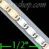 "14K Gold Bar Link Chain 16"" 2.4mm"