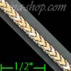 "14K Gold Franco Chain 16"" 2.4mm"