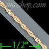 14K Gold Singapore Chain 14""