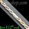 "14K Gold Figarope Chain 20"" 2.5mm"