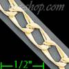 "14K Gold Micro-Casting Chain 8"" 5mm"