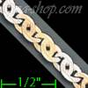 "14K Gold Micro-Casting Chain 8"" 4.3mm"