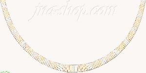 14K Gold Cleopatra Necklace 17""