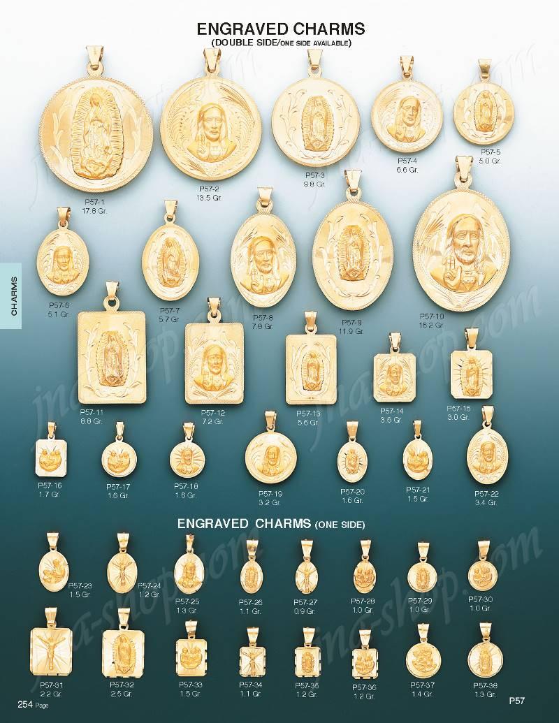 14k gold baptism diamond cut round engraved charm pendant p57 30 charms pendantsengravablepage254gldctg5page226gldctg4p57 30 aloadofball Choice Image