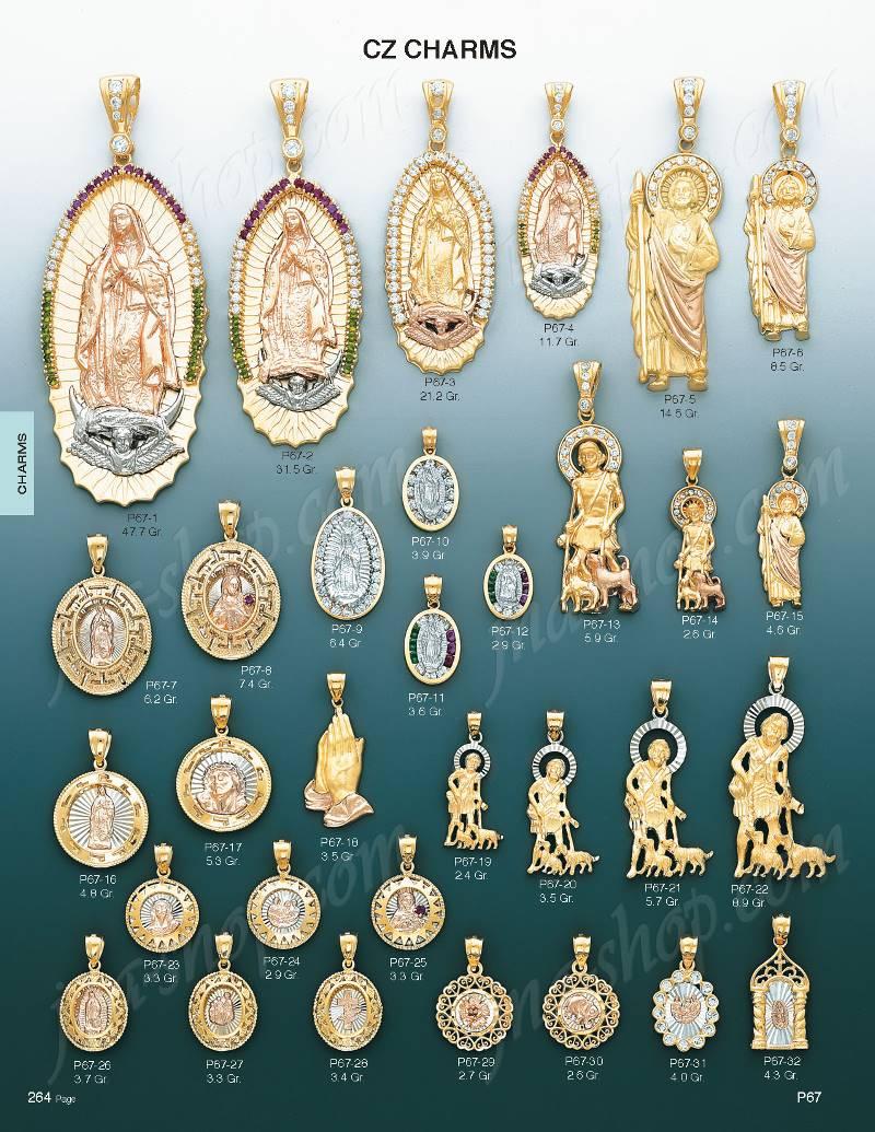 14k gold saint jude cz charm pendant p67 5 97900 gold charms pendantsassortedpage264gldctg5page236gldctg4p67 5 aloadofball Choice Image